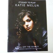 songbook KATIE MELUA call of the search , it's easy to play