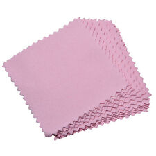 10xJewelry Polishing Cloth Cleaning for Platinum Gold and Sterling Silver Sweet
