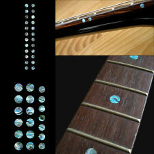 Fret Markers Inlay Sticker Decal Guitar & Bass - Custom Dot SET Abalone Blue