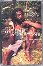 Culture - One Stone Cassette - SEALED - New Copy - Roots Reggae