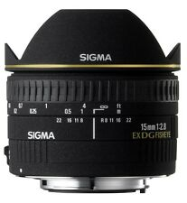 Sigma 15mm f2.8 DG diagonal fisheye pour Nikon af (uk stock) bnib