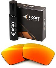 Polarized IKON Replacement Lenses For Dragon The Jam Sunglasses Fire Mirror