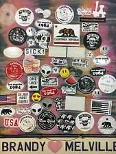 Huge Lot Of 55 Brandy Melville Vinyl Stickers Decals Bundle, The Perfect Gift!