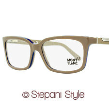 Montblanc Rectangular Eyeglasses MB429V 059 Size: 57mm Dove Gray 429