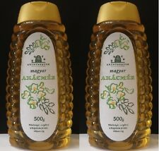 ACACIA HONEY PURE ORGANIC WHITE FLOWER HUNGARIAN 2 x 500g / 2 x 17.6oz