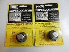 HKS Speedloader;  36-A;  5-Shot;  2 Pack; 38 Spec;  357 Mag;  Fast & Dependable