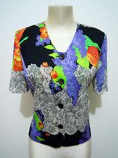 LIOLA' VINTAGE '80 Giacca Donna Cotone Cotton Woman Jacket Sz.M - 44