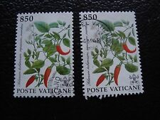 VATICAN - timbre yvert et tellier n° 934 x2 obl (A28) stamp