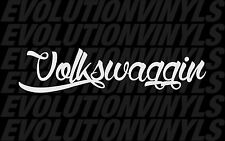 Volkswaggin V1 Sticker Decal Euro Stance bags static illest hoonigan JDM VW Vag