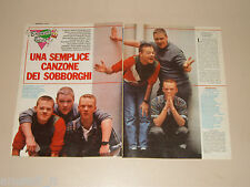 BRONSKI BEAT BAND GRUPPO MUSICALE clipping articolo foto photo 1984 AT49