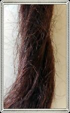 English Mohair for Reborn or Porcelain Doll wigs - Dark Brown, 25gm-30gm pack