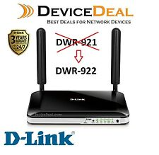 D-LINK DWR-922 VoIP Router with SIM Card Slot  FXS Voice Port - 3 Years Warranty