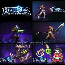 Heroes of the Storm 5 Heroes Bundle - Region Free Codes - Fast Delivery!