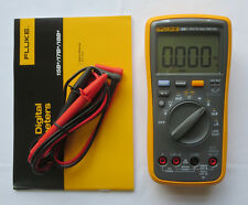 US Ship FLUKE Digital Multimeter F18B+ LED Tester 18B+ Voltmeter warranty 1y