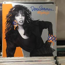 Donna Summer-All Systems Go LP --RARE VINYL WITH LYRIC INNER SLEEVE-- !!!!!