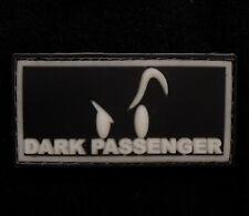 PVC GLOW IN DARK GITD DEXTER DARK PASSENGER SWAT VELCRO® BRAND FASTENER PATCH