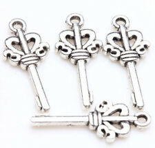 25 pcs Tibet Silver Metal Loose Spacer Charm Pendants Jewelry Findings New