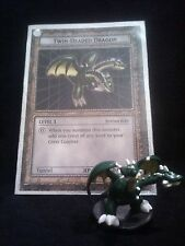 YUGIOH Dungeon Dice Monsters DDM - TWIN-HEADED DRAGON  figure/card