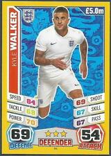 TOPPS MATCH ATTAX  BRAZIL 2014 WORLD CUP- #084-ENGLAND-KYLE WALKER