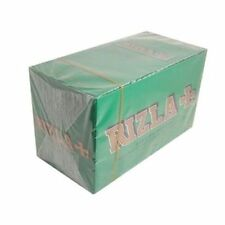 New: Rizla Green Regular Size Rolling Papers 15 Booklets of Finest Quality