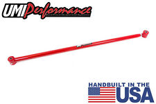 UMI Performance 2005-2014 Mustang Single Adjustable Panhard Bar w/ Poly End RED