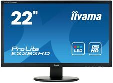 Iiyama E2282HD 21.5 inch LED Monitor - Full HD 1080p, 5ms Response, DVI
