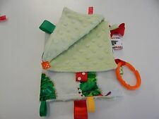 Baby Taggie Blanket Comforter Sensory Toy - Very Hungry Caterpillar - Great Gift