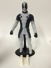 Custom 1/6 Deadpool Marvel X-Force Tony Mei Hot Toys Body Ashkan Calves Rare HTF