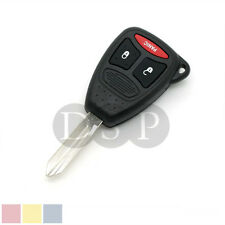 Remote Key Case Shell fit for CHRYSLER Replacement 3 BTN Pad MITSUBISHI Raider
