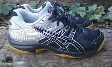ASICS Gel-Rocket Men's Silver & Black Indoor Court Shoes Size 5