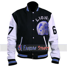 Eddie Murphy Beverly Hill Cop Letterman Detroit Lions Jacket - Free Shipping