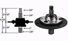 8967 MTD (SHORT) Right hand and center Blade Quill Spindle Pulley Assembly