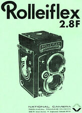 Rolleiflex 2.8F Repair Manual: NATCAM