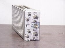 TEKTRONIX 7A18N OSCILLOSCOPE plug-in amplifier 2X75MHz * 328