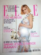 Magazine mode fashion ELLE French #2955 19 aout 2002 Sarah Jessica Parker