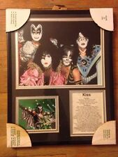 "Kiss The Band The Albums Plaque 11""x14"""