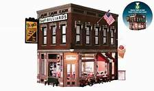 WOODLAND SCENICS BUILT & READY CORNER EMPORIUM O SCALE BUILDING - LED Lighting