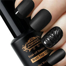 8 ml New Manicure Art Finisher Matte Top Coat Soak Off Sealer Gel UV Nail Polish