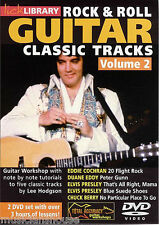 LICK LIBRARY Rock & Roll Classic Tracks ELVIS EDDIE COCHRAN GUITAR DVD Vol 2