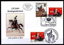 150J. Gendarmerie in Österreich. FDC+SoSt. Österreich 1999