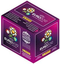 Euro 2012 PANINI STICKER COLLECTION ~ 100 paquetes + Gratis cara pinturas y 3 figuras