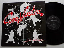 "COSA NOSTRA & Co Ltd ""Movies"" SWISS indie rock FRENCH/SWISS LP PRIVATE (1987)"