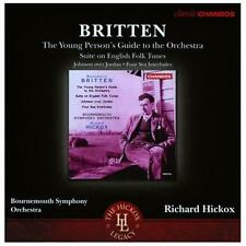 Britten: Young Person's Guide to the Orchestra, Suite on English Folk  ExLibrary