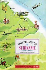 ALBUM FIGURINE GIRO DEL MONDO COMPLETO SURINAME