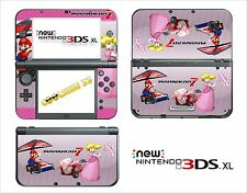 SKIN STICKER AUTOCOLLANT - NINTENDO NEW 3DS XL - REF 150 MARIO KART 7