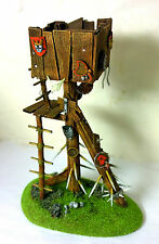 WARHAMMER ORCS AND GOBLINS SCENERY   WATCH TOWER PRO PAINTED
