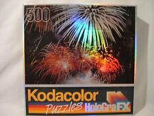 KODACOLOR HOLOGRAFX FIREWORKS DISPLAY JIGSAW   PUZZLE~~ 500 PIECES   NEW