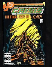 Crisis #8 ~ Death of Flash ~ 1985 (8.5) WH