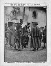 Général Dubail Quartier Général de Verdun/Cavalerie Cuirassiers Dragons 1915 WWI