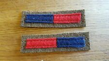 Royal Artillery Arm of Service Stripes reproduction WWII for Battledress